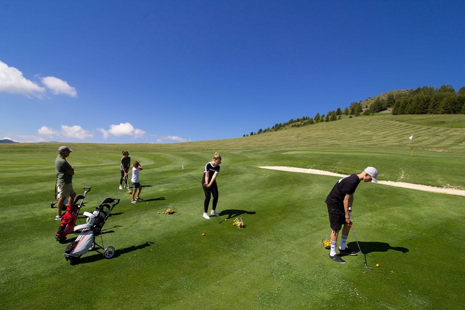 stage golf de valberg